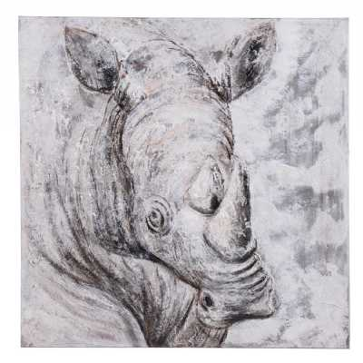 Paintings Rhino Conservation Canvas