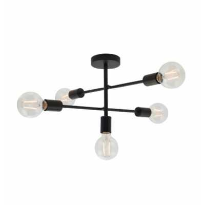 5 Ceiling Lamp Black