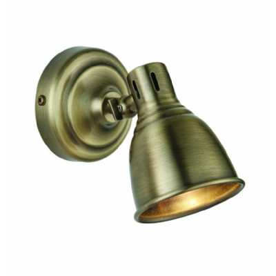 Wall Light Antique Brass