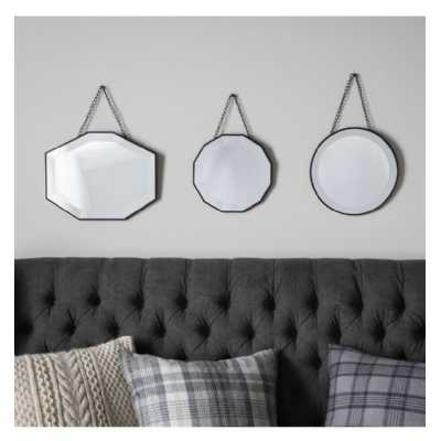 Scatter Set Of Three Mirrors