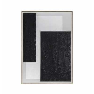 II Abstract Framed Canvas