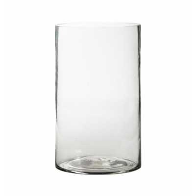 Bubble Glass Vase Small Clear