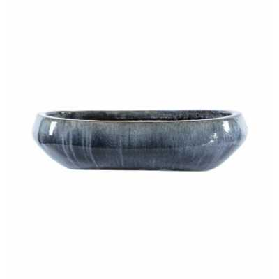 Bowl Planter Mineral Grey