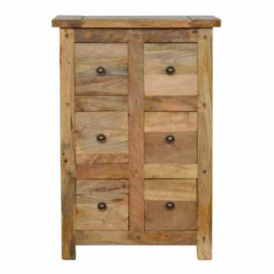6 Drawer Cd Cabinet
