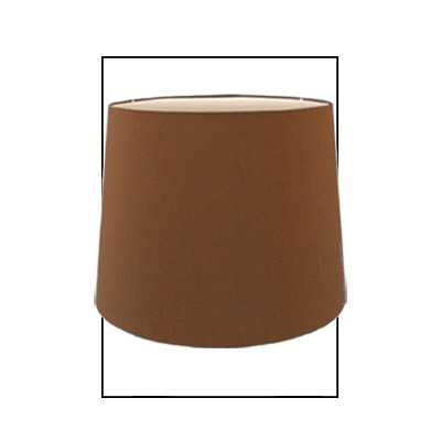 Cream Faux Silk 10 Inch Drum Shade
