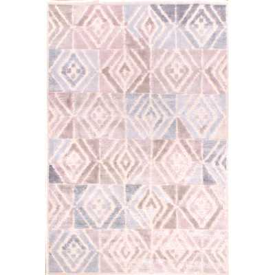 DIMENSIONS 496 ROSE MULTICOLOURED PATTERN RUG 120 x 170cm