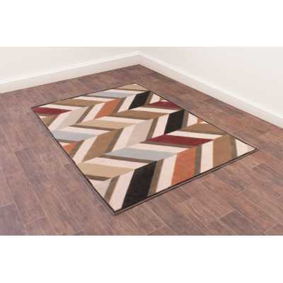 Dimensions 834 Duckegg Geometric Contemporary Wool Rug 160 x 230