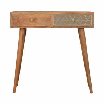 In1087 Dice Console Table