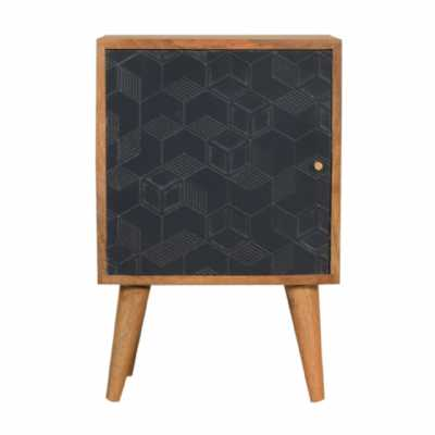 In1533 Acadia Navy Blue Bedside