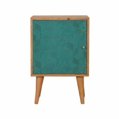 In1534 Acadia Teal Bedside