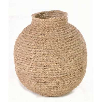 Plain Rounded Woven Basket