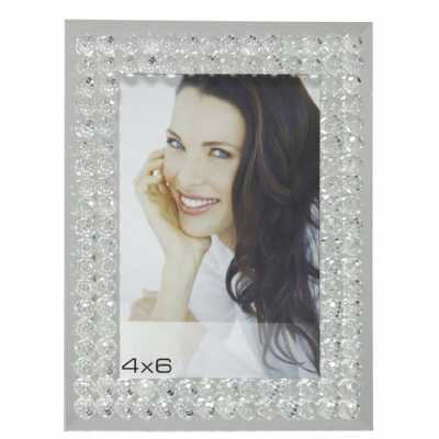 Mirror Bubbles Photo Frame (4in X 6in)