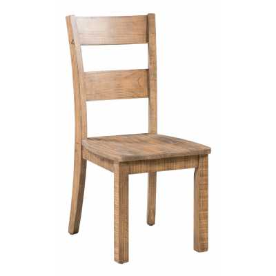 Urban Loft Dining Chair With Timber Seat