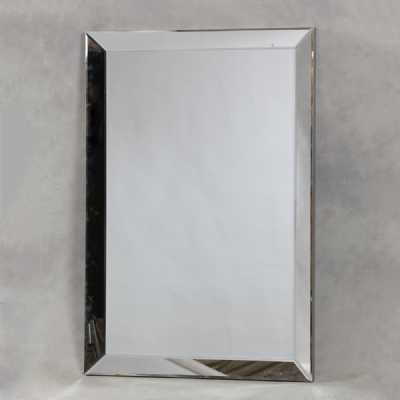Extra Large Tall Wide Rectangular Venetian Wall Mirror Beveled Glass Edges 190 x 130cm