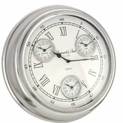 Time Zone Wall Clocks